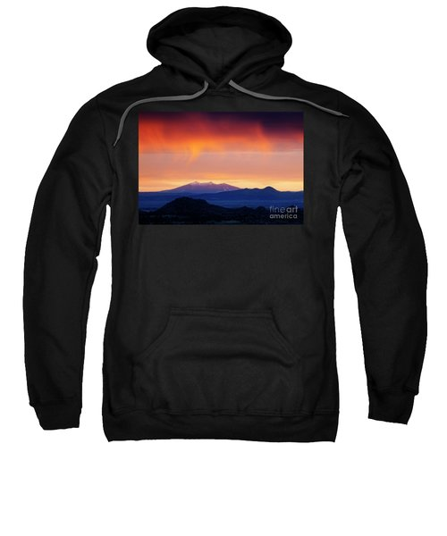 Sweatshirt featuring the photograph Stormy Sunset by Scott Kemper