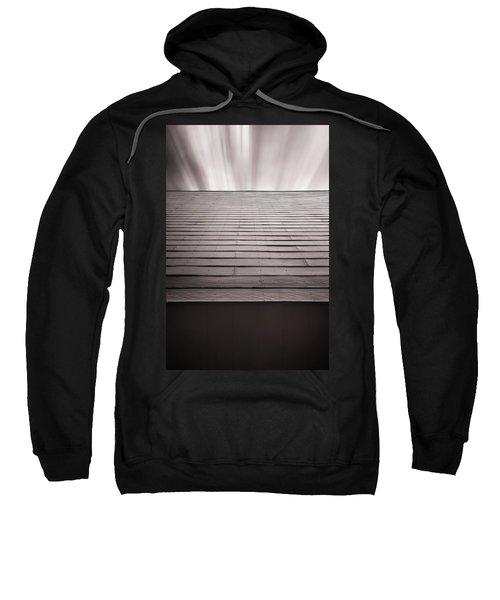 Straight Line Above Sweatshirt