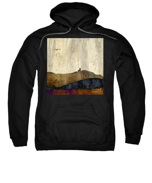 Strata With Lighthouse And Gull Sweatshirt