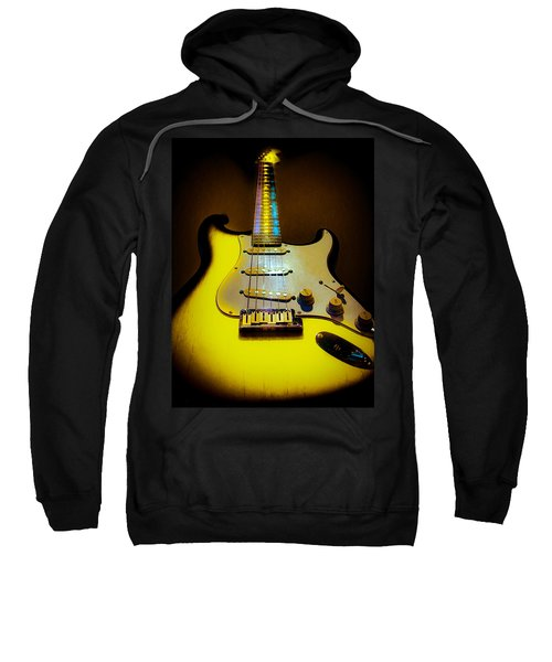 Stratocaster Lemon Burst Glow Neck Series Sweatshirt