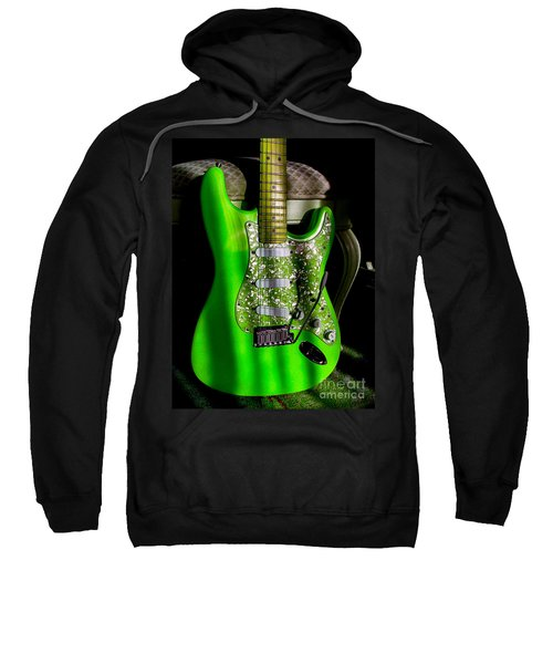 Stratocaster Plus In Green Sweatshirt
