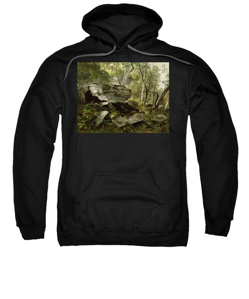 Study From Nature   Rocks And Trees Sweatshirt