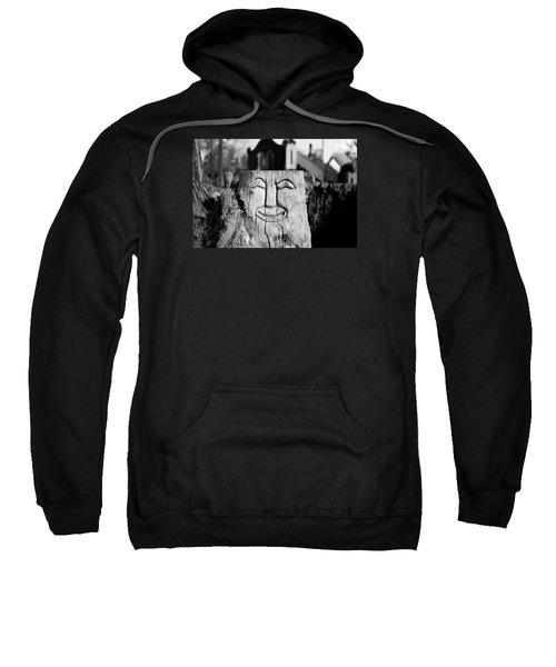 Stump Face 1 Sweatshirt