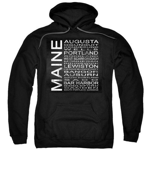 Subway Maine State Square Sweatshirt