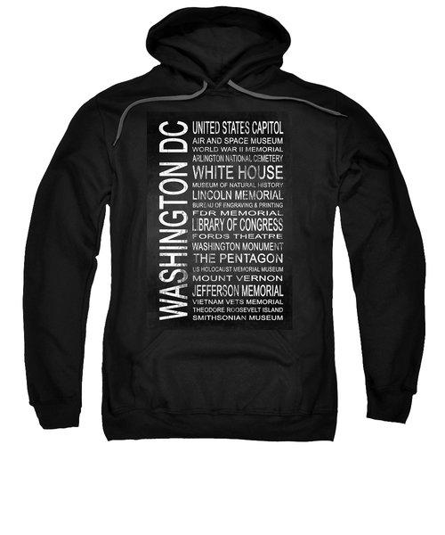 Subway Washington Dc 2 Sweatshirt by Melissa Smith