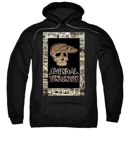 Suicidal Tendencies 2 Sweatshirt by Michael Bergman