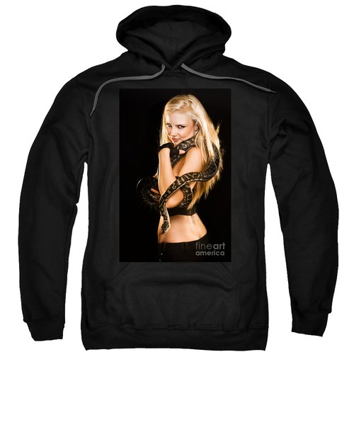 Sultry Sedutive Snake Dancer Sweatshirt