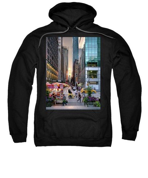 Summer Evening, New York City  -17705-17711 Sweatshirt