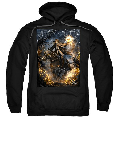 Summoned Skull Fantasy Art Sweatshirt