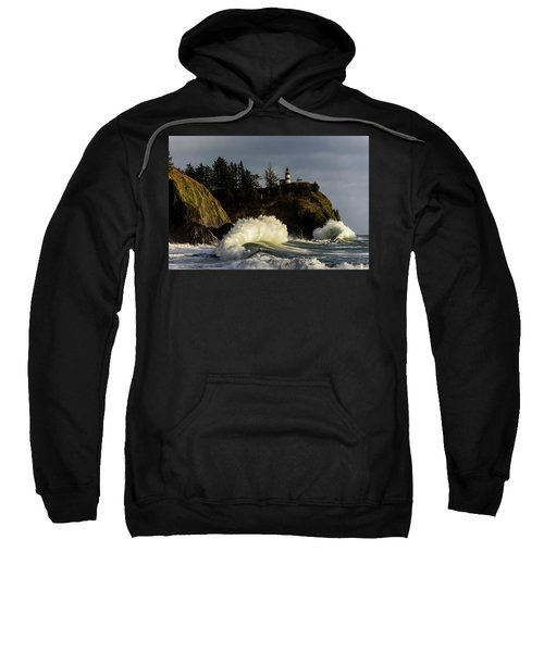 Sun And Surf With Lighthouse Sweatshirt