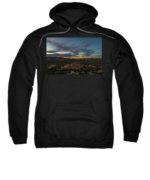 Sundown From Hilltop View Sweatshirt