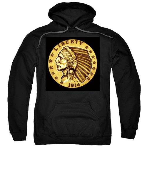 Sunflower Gold Quarter Eagle Sweatshirt