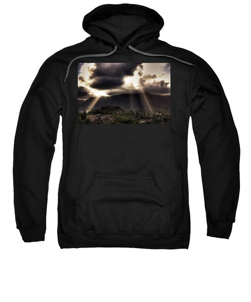Sunlight Breaking Through The Gloom Sweatshirt