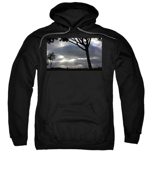 Sunlit Gray Clouds At Otay Ranch Sweatshirt