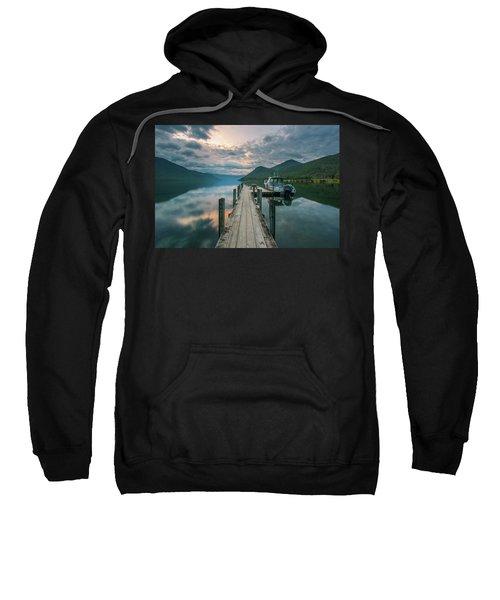 Sunrise Over Lake Rotoroa Sweatshirt