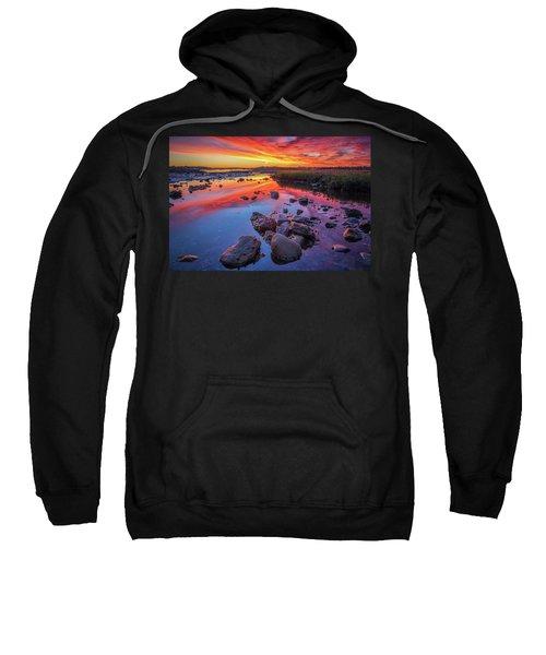 Sunrise Reflections In Harpswell Sweatshirt