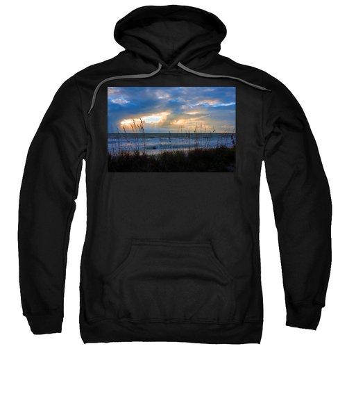 Sunset At Delnor Wiggins Pass State Park Sweatshirt