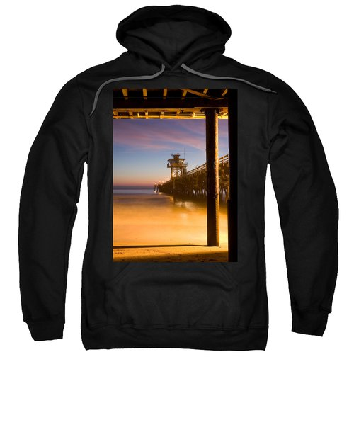 Sunset At San Clemente Sweatshirt