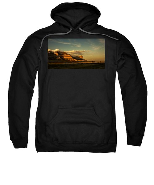 Sunset At Scotts Bluff National Monument Sweatshirt
