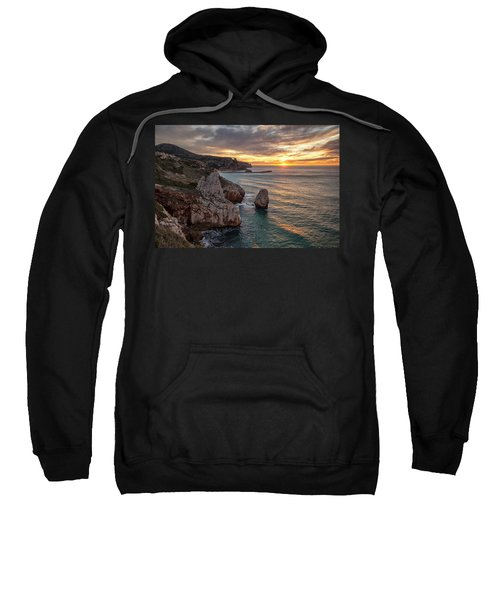 Sunset At The Nest Of The Eagle Sweatshirt