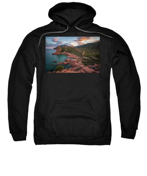 Sunset In The Mountains Sweatshirt