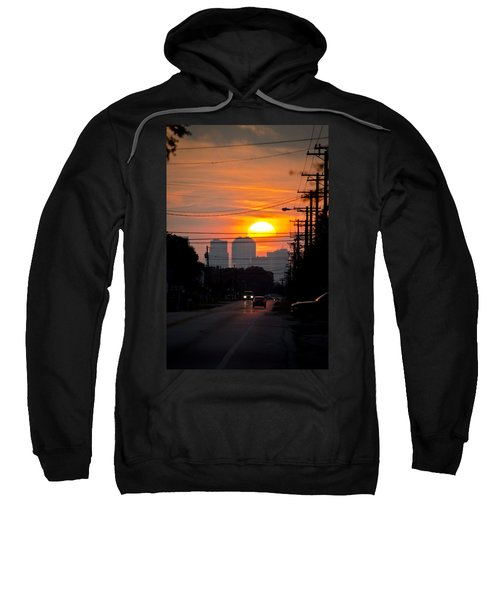 Sunset On The City Sweatshirt