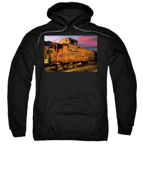 Sunset On The Rio Grande Sweatshirt