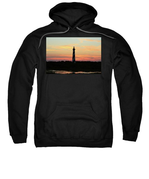 Sunset Over Cape Hatteras Light Sweatshirt