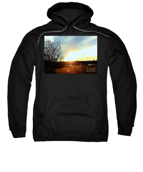 Sunset Over Fields Sweatshirt