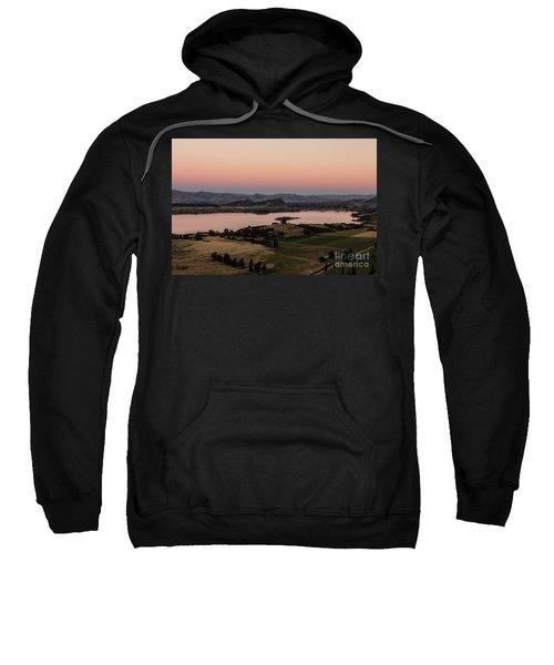 Sunset Over Lake Wanaka In New Zealand Sweatshirt