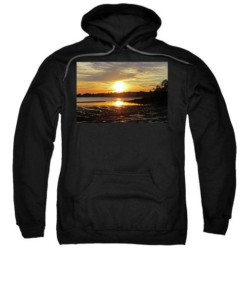 Sunset Over Lynch Park Beverly Ma Sweatshirt