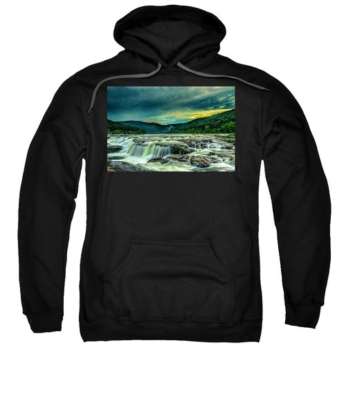 Sunset Over Sandstone Falls Sweatshirt