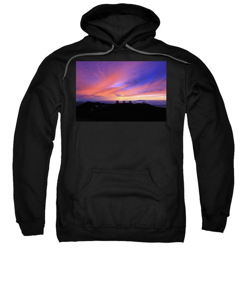 Sunset Over The Clouds Sweatshirt