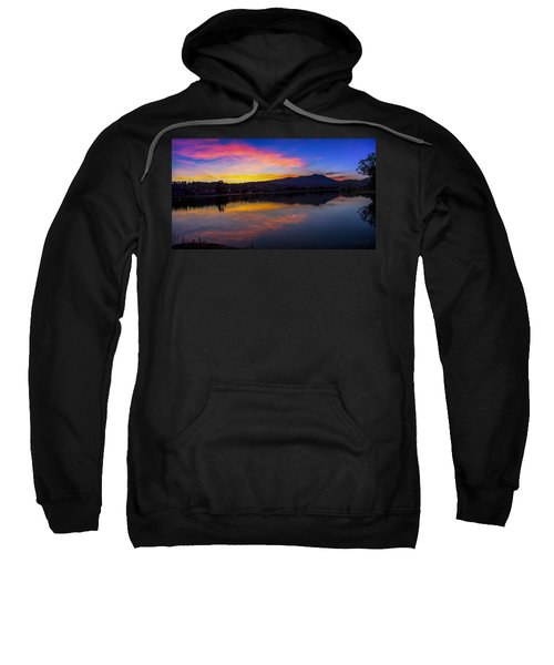 Sunset Panorama Of Mt. Tam And Richardson Bay Sweatshirt