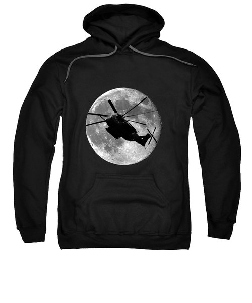 Super Stallion Silhouette .png Sweatshirt by Al Powell Photography USA