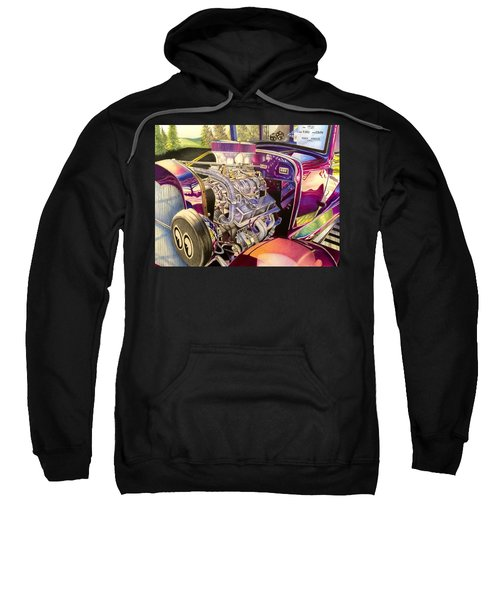 Supercharged Antique 1931 Ford Coupe  Sweatshirt