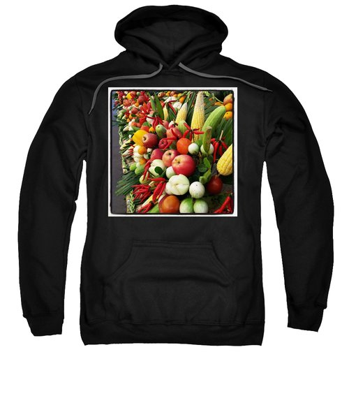 Sweatshirt featuring the photograph Surin Elephant Buffet by Mr Photojimsf