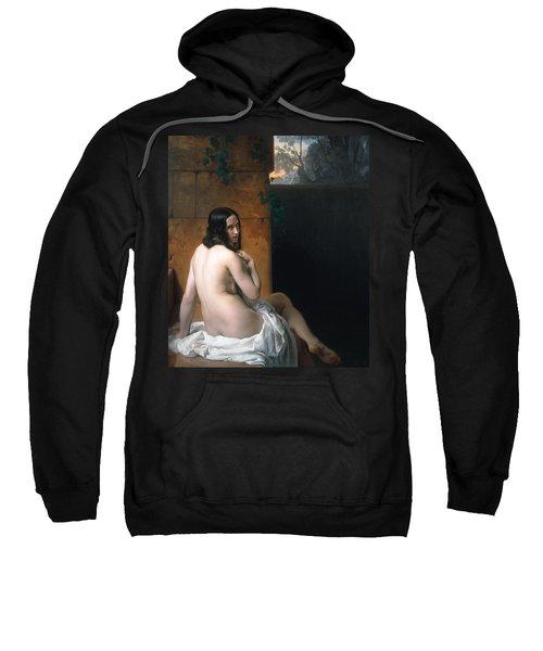 Susanna At Her Bath Sweatshirt