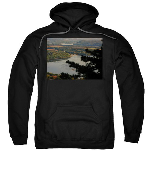 Susquehanna River Below Sweatshirt
