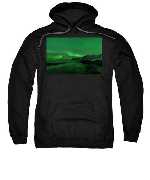 Swirling Skies And Seas Sweatshirt