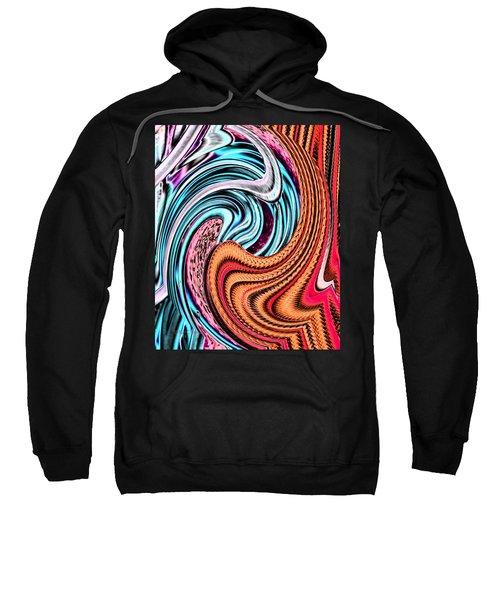 Swirly Abstract 7179a Sweatshirt