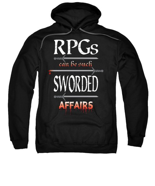 Sworded Affairs Sweatshirt by Jon Munson II