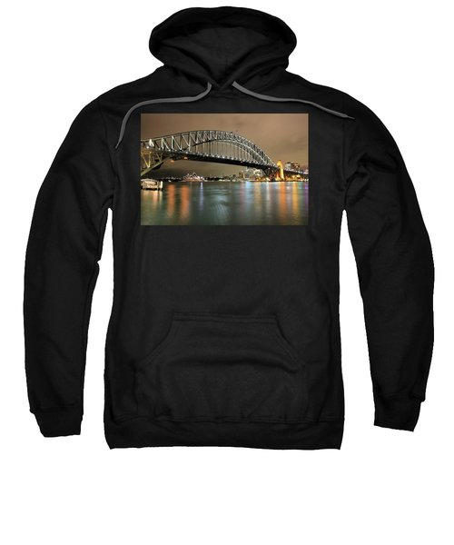 Sydney Harbour At Night Sweatshirt