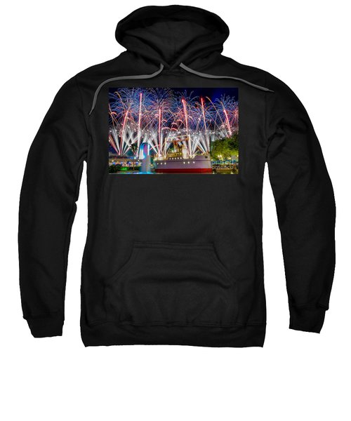 Symphony In The Stars As Seen Around Echo Lake Sweatshirt