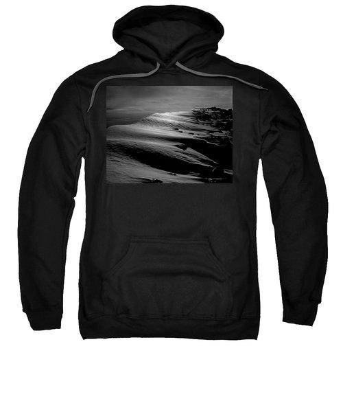 T-213312 Windblown Ice On Humphreys Peak Sweatshirt