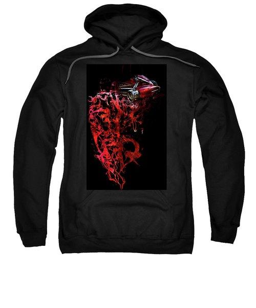 T Shirt Deconstruct Red Cadillac Sweatshirt