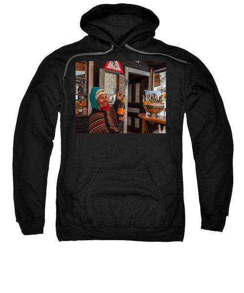 Taimi In Zermatt Switzerland Sweatshirt