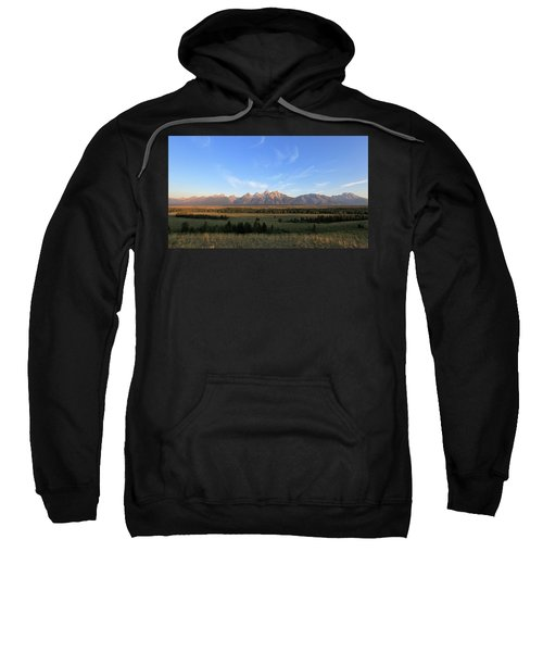 Teton Range After Sunrise Sweatshirt