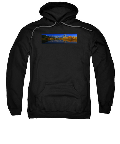 Tetons From Oxbow Bend Sweatshirt