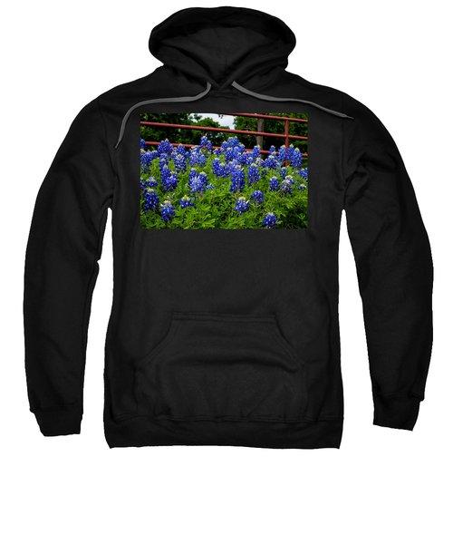 Texas Bluebonnets In Ennis Sweatshirt